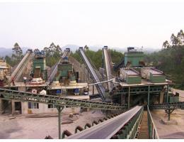400吨/小时花岗岩制沙方案