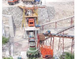 450吨/小时鹅卵石制砂生产线方案