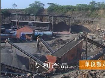 120吨/小时玄武岩制砂生产线方案