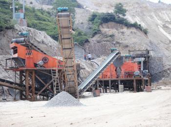 150吨/小时生物矿石碎石方案