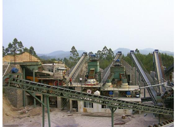 200吨/小时石灰石方案